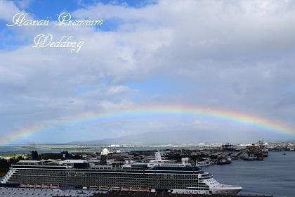 客船と虹.jpg